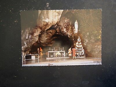 Postcard - Lourdes, The Miraculous Grotto