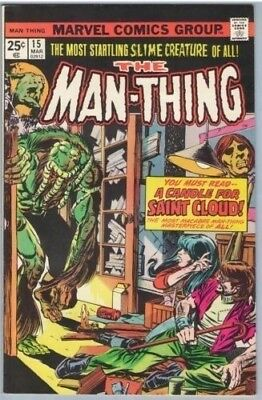 Man-Thing 15 Mar 1975 VF- (7.5)