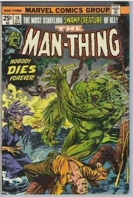 Man-Thing 10 Oct 1974 FI+ (6.5)