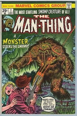 Man-Thing 7 Jul 1974 FI- (5.5)