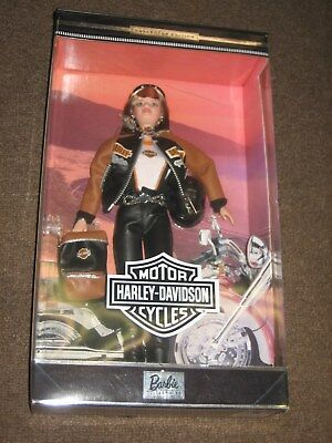 Vintage Barbie Doll Harley Davidson Nrfb Mib Action Figure Collectible 25637