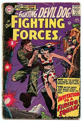 Our Fighting Forces 97 Jan 1966 GD-VG (3.0)