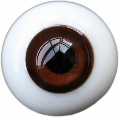 [PF] Y33# 10mm Brown Eyes For BJD Doll Dollfie Glass Eyes Outfit