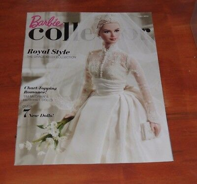 The Barbie Collector Club Catalog FALL 2011  Magazine NEW  Grace Kelly Cover