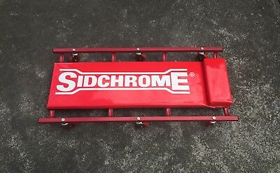 Sidchrome Heavy Duty Floor Creeper Sidchrome Tools Vintage Garage Man Cave