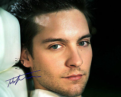 "Tobey Maguire10""x 8"" Signed Color PHOTO REPRINT"
