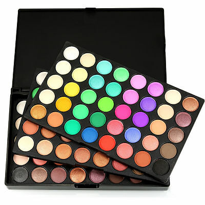 120colors Eye Shadow Cosmetic Makeup Shimmer Matte Eyeshadow Palette Set Kit A0