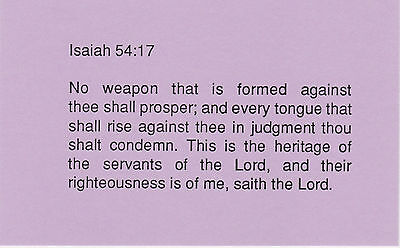 Righteousness - Scripture Cards