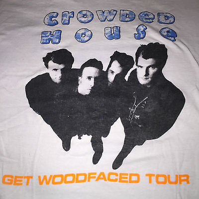 Crowded House Real vintage original concert T-shirt