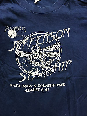 Jefferson starship 1981 Real vintage concert T-shirt