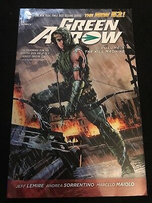 Green Arrow The New 52 Volume 4 The Kill Machine (#17-24)
