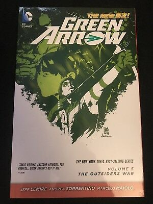 Green Arrow The New 52 Volume 5 The Outsiders War (#25-31)