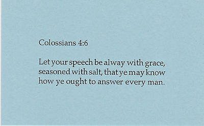 Words of Your Mouth - Scripture Cards