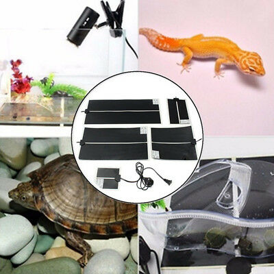 Reptile Temperature Adjustable Mat Pad Heating Warm Emitted Tool For Pet