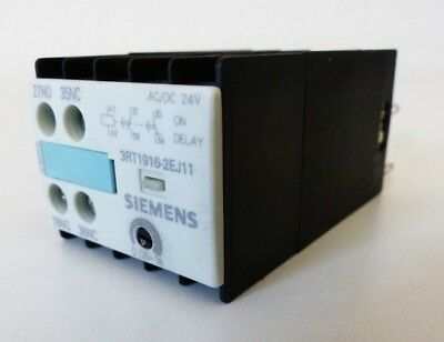 Siemens 3RT1916-2EJ11 3RT1 916-2EJ11 24VAC/DC -unused-