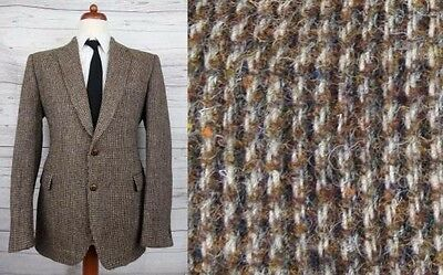 Vintage Multi Tone Brown Harris Tweed Jacket with Fleck Detail -40- CU61