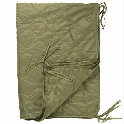 Mil-Tec US Army PONCHO LINER Travel Blanket 210 x 150 cm Coyote