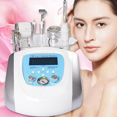 6 in 1 Multifunctional High Frequency Facial Care Beauty Instrument Machine Kit.