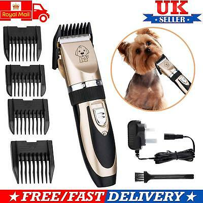 Low Noise Cordless Electric Dog Grooming Kit Trimming Clippers For Cats and Pets