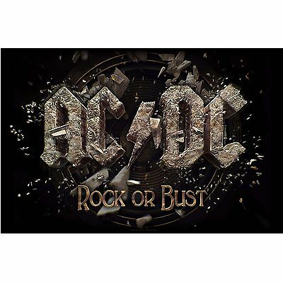 AC/DC Rock or bust Textile Poster Flag