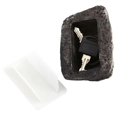 Realistic Rock Outdoor Key Holder Hide Garden Fake Safe Hider Real Stone Look GL