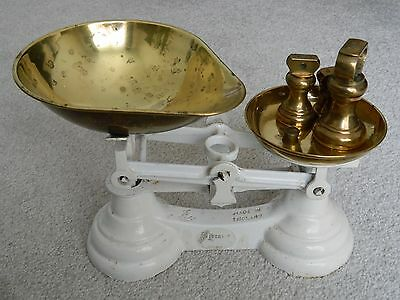 Librasco + 4 brass wieghts, made in england, cast iron and brass