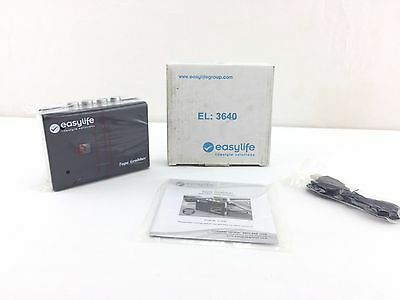 easylife Tape Grabber Convert Cassettes to MP3 EL3640 NEW OPEN BOX FREE UK POST