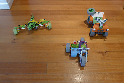 Meccano 'Flexible' range – 3 sets (Set #4103, #7106, #760260) - good condition