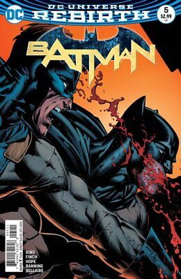 Batman #5 (Vol 3) DC Rebirth