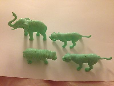 Green Animal Cereal Toys