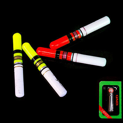 10pcs Luminous Floating Battery Operated LED For Dark Water Night Fishing FloatE