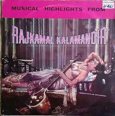 Bollywood LP Musical Highlights from Rajkamal Kalamandir 3AEX 5006