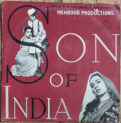 Bollywood LP Son of India 3AEX 5022