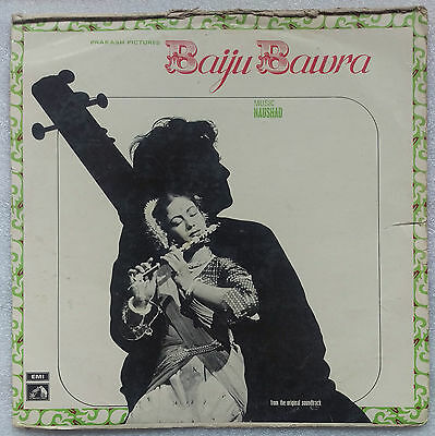 Bollywood LP Baiju Bawra (EALP 4069)