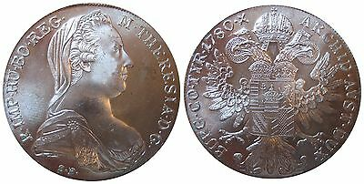 AUT-KM-MT   Maria Theresia Taler 1780 S.F.   in UNC