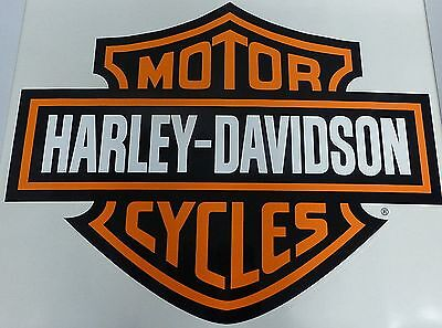 Two Pack Harley Davidson Large Trailer / Wall Decal Sticker 37x29