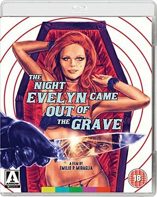 Blu-Ray The Night Evelyn Came Out Of The Grave  ( Arrow ) New Sealed Uk Stock