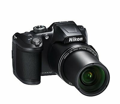 Nikon COOLPIX B500 16MP Digital Camera w/ 1080p Video, Bluetooth & WiFi - Black