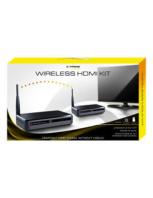 Brand New Xtreme HDMI Wireless Extender Kit XHV1-1020-BLK 3 Sources No Cables