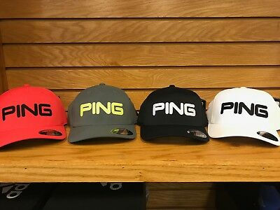Ping Tour Structured Golf Hat Cap You Pick Color/Size *NWT*