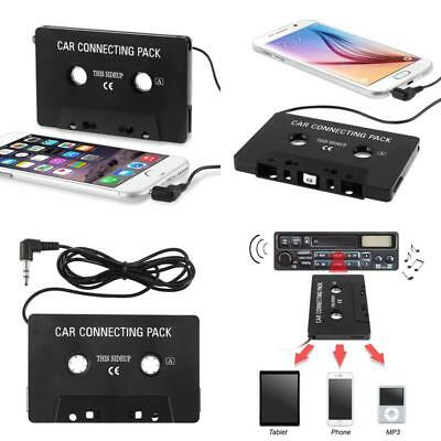 NEW Cassette Tape Adapter Aux Cable Audio Cord 3.5mm Jack to MP3 iPod CD Player