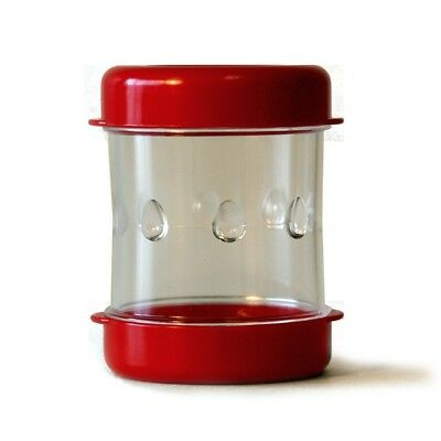 The Negg Boiled Egg Peeler (Red) | Perfectly Peel a Hard Boiled Egg In Seconds