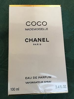 CHANEL COCO MADEMOISELLE EAU DE PARFUM SPRAY 100ML spray bottle