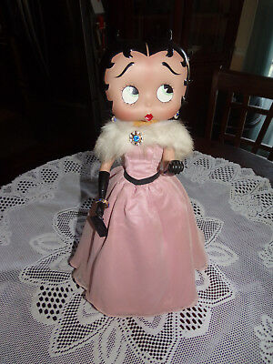 """Betty Boop Belle Of The Ball Very Rare 17"""" Tall Porcelain"""