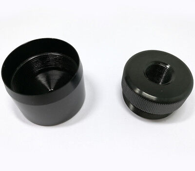 """New! Maglite D Cell Cap set 1/2""""-28 Replacement end caps"""