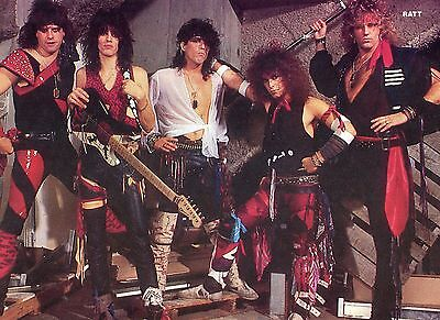 Ratt Pinup Clipping 80's Round And Round Robin Crosby