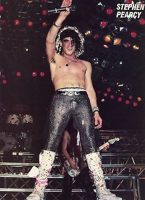 Stephen Pearcy Pinup Clipping 80's Shirtless Tight Pants Ratt