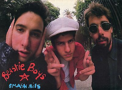Beastie Boys Pinup Clipping 80's Adam Yauch Mike D