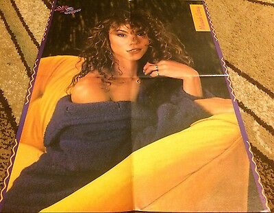 Mariah Carey 4 Page Centerfold Clipping 90's Sexy
