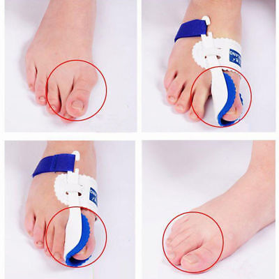 2xBig Toe Bunion Splint Straighteners Correctors Foot Pain Relief Hallux Valgust